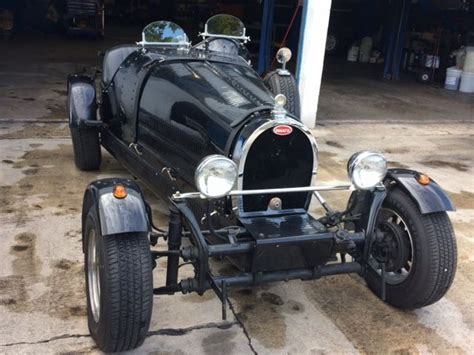 A classy replica loosely based on the 1927 bugatti 35 racer, she runs great and looks the part. Bugatti Kit Car