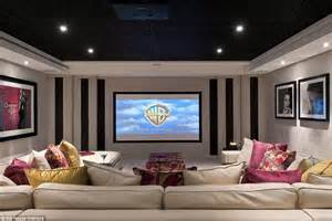 Interiors For Home The Real Cost Of George And Amal Clooney 39 S Home Cinema In Their 10m Mansion Daily Mail