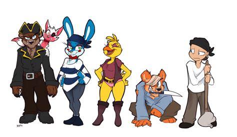 Freddy's Pirate Crew! By Kayla-na On Deviantart