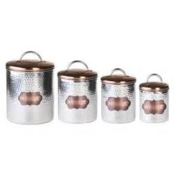 metal canisters kitchen global amici 4 cucina hammered metal canister set walmart com