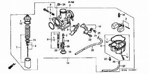2003 Honda Rancher Carburetor Diagram