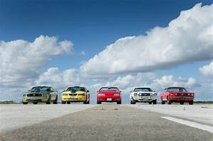 New Ford Mustang - Five generations of America's pony car tested   Autocar