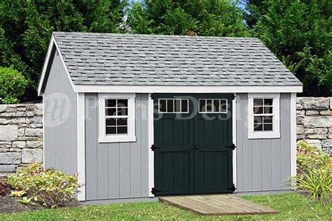 garden storage shed plans    gable roof design
