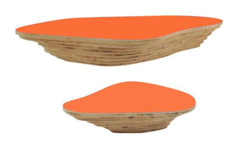 Der Couchtisch Aus Holzunique Table Made From 10 Different Types Of Wood 3 by Couchtisch Livingisland Viale Smarin Orange Holz