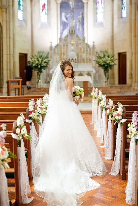 beautiful bride www touchedbyangels com au church in