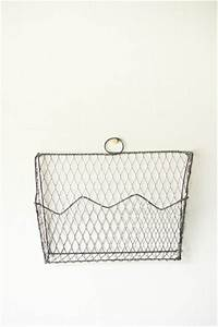 Wire wall letter holder things pinterest for Wire letter holder wall