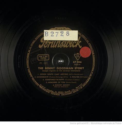The Benny Goodman Story  Mus Origin Du Film ; Down