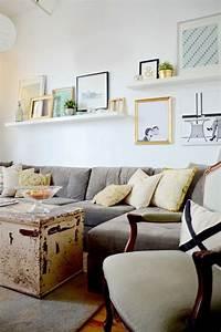 Wohnzimmer Ideen Wandgestaltung : ideen wandgestaltung wandregale bilderleisten wohnzimmer wanddesign ideen dekokissen pinterest ~ Sanjose-hotels-ca.com Haus und Dekorationen