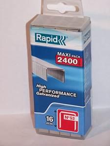 Klammern Typ 53 : klammern typ 53 16mm in plasticbox wiederverschlie bar ~ Frokenaadalensverden.com Haus und Dekorationen