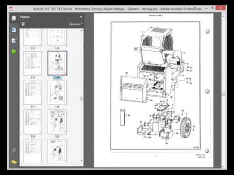 Bobcat 741 Wiring Diagram by Bobcat 743b Wiring Diagram Diagram Wiring Diagram Images