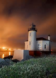 Oregon Coquille River Lighthouse