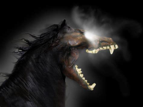 Demonic Horse by 39-TheWolf on DeviantArt