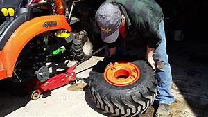Kubota Bx 2380 Weighted Tires With Rim Guard