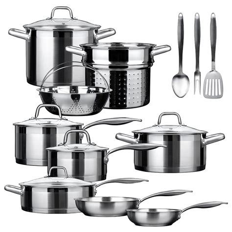 duxtop professional  piece review stainless steel cookware