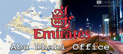 bureau emirates emirates abu dhabi office contact phone number address