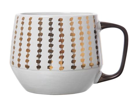 However, there are few key criteria we looked at when researching and testing our picks for the best coffee mug, including durability, heat retention, dishwasher safety, and price. Target mug by Nattie | Clay art, Gold dots, Mugs