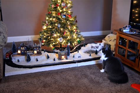 christmas trains for under the tree model trains geography the tree marx layout presentation
