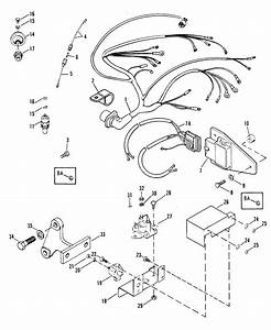 Wiring Harness  Electrical And Ignition For Mercruiser 502