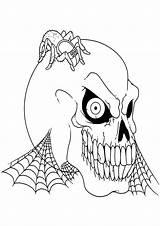 Disegni Halloween Colorare Spaventosi Pianetabambini Paurosi Gratis Stampa Stampare Immagini Bambini Adulti Sul Horror Dei Disegno Articulo sketch template