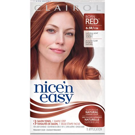 and easy colors clairol clairol n easy permanent hair color 6 5r