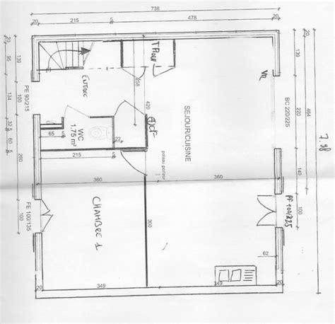 plan de maison avec cuisine ouverte plan cuisine ouverte maison moderne avec bureau domicile ou 3me chambre grande agencement