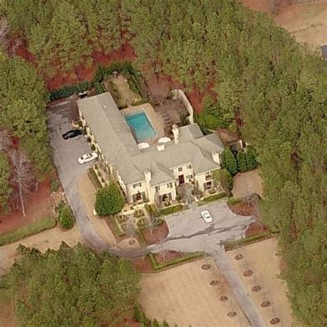 Nick Saban's House in Tuscaloosa, AL (Bing Maps)