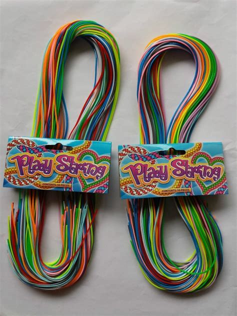 play strings coloured scoubidou scoobidou scubidu