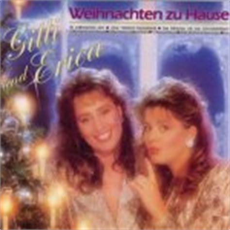 Weihnachten Zu Hause  Gitti + Erica  Cdalbum 1987