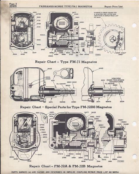 Fairbanks Morse Magneto Parts Diagram