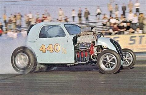Fiat Topolino Altered by 440 Fiat Topolino Fuel Altered A A Drag Cars