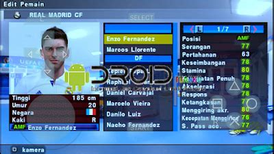 mod texture pes ppsspp psp build  android