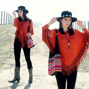 Lexi L - New Dress Batwing Knit Poncho Romeo u0026 Juliet Couture Black Leggings Stetson Cowboy ...