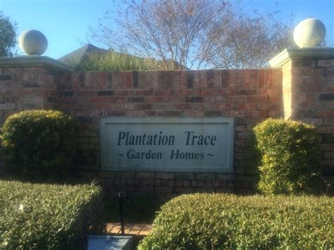 plantation trace garden homes subdivision real estate