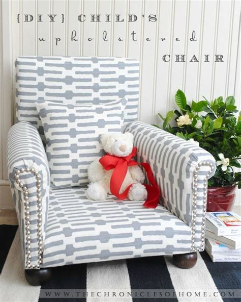 Diy Armchair Upholstery by Diy Child S Upholstered Chair The Chronicles Of Home