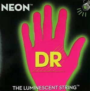 DR NEON NPB 40 Neon Pink Luminescent Fluorescent Bass
