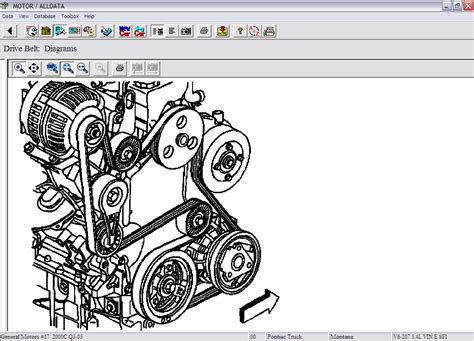 2006 Pontiac Montana Engine Diagram by I Need The Diagram For The Accessory Belt Routing On A