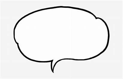 Bubble Speech Talk Comment Outline Transparent Pngkey