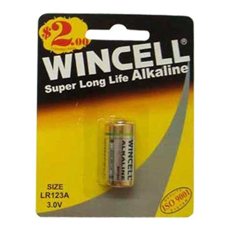 b batterie batteries lr123a