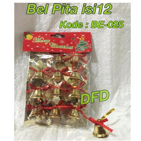 Jual Aksesoris Natal / Ornamen Natal / ( Bel Pita Isi 12