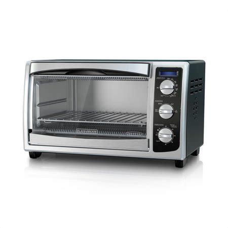 black decker stainless steel convection 6 slice toaster oven convection 6 slice countertop toaster oven black decker
