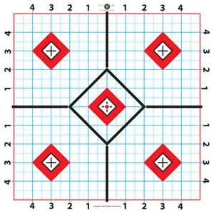 Free 100-Yard Printable Targets
