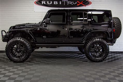 Preowned 2015 Jeep Wrangler Rubicon Unlimited Black