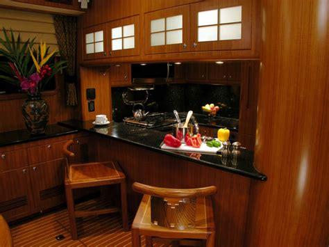 lining kitchen cabinets review nordhavn 55 trawler nordhavn yacht 3810