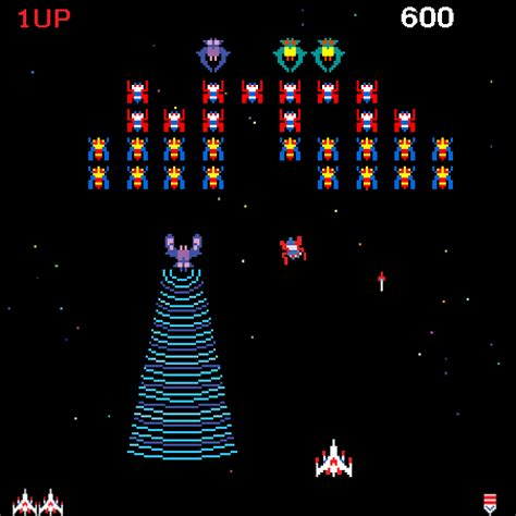 Galaga-Screenshot – Capsule Computers