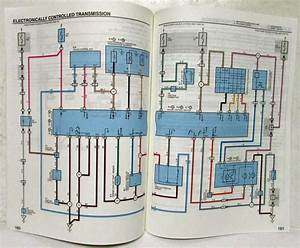 1999 Toyota Celica Electrical Wiring Diagram Manual Us