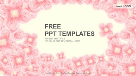 pink floral abstract  templates