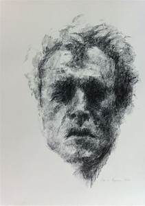 black chalk drawings by cecilie nyman gallery nyman