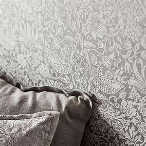 Morris Co : morris co pure strawberry thief wallpaper ~ Watch28wear.com Haus und Dekorationen
