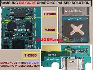 Samsung Galaxy J5 Prime G570f Charging Paused Solution