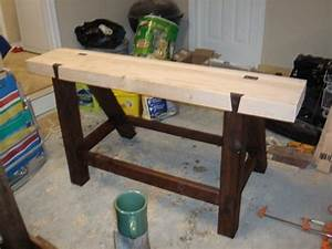 Roubo Workbench (Hand tools Only) - by seandietrich